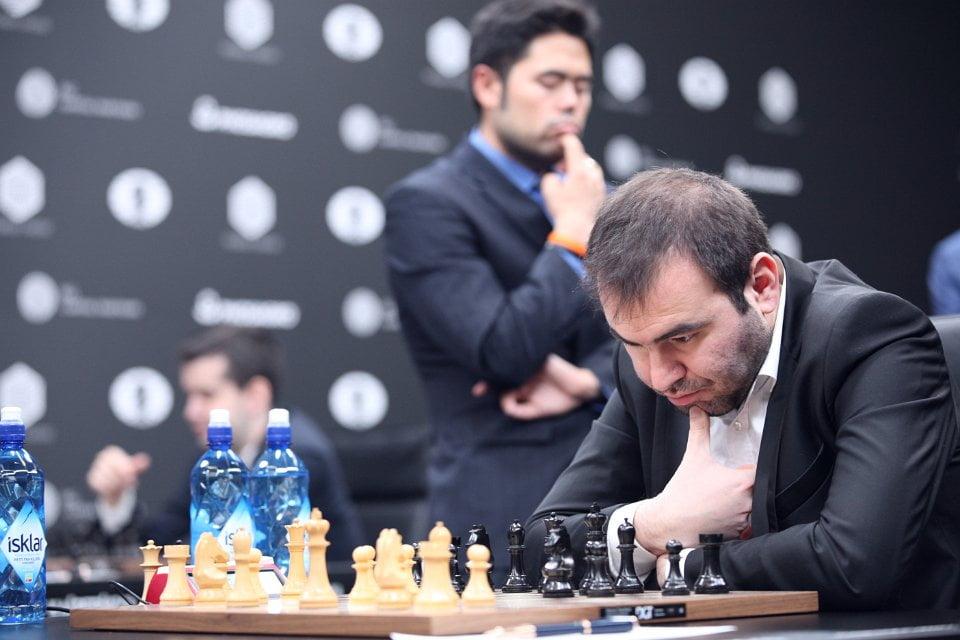Grand Prix FIDE 2017 Moscou ronde 4 Shakhriyar Mamedyarov