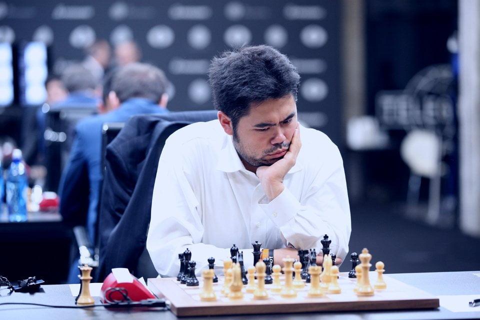 Grand Prix FIDE 2017 Moscou ronde 5 Hikaru Nakamura