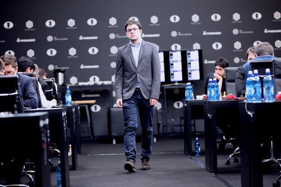 Grand Prix FIDE 2017 Moscou ronde 5 Maxime Vachier-Lagrave