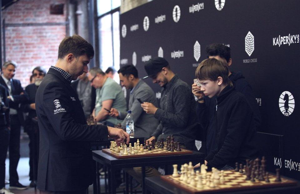 Grand Prix FIDE 2017 Moscou ronde 5 Sergey Karjakin