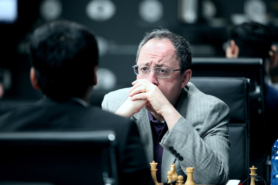 Grand Prix FIDE 2017 Moscou ronde 6 Boris Gelfand