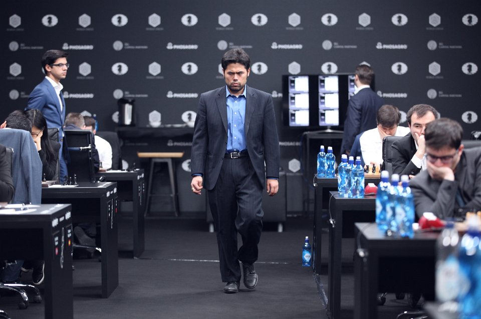 Grand Prix FIDE 2017 Moscou ronde 6 Hikaru Nakamura