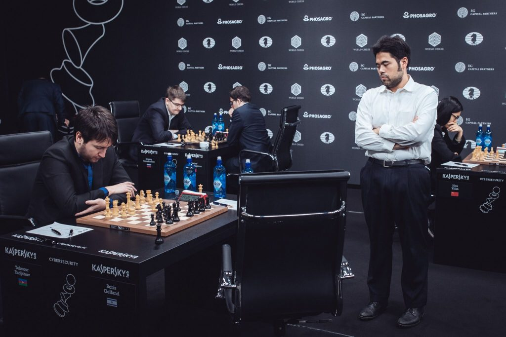 Grand Prix FIDE 2017 Moscou ronde 8