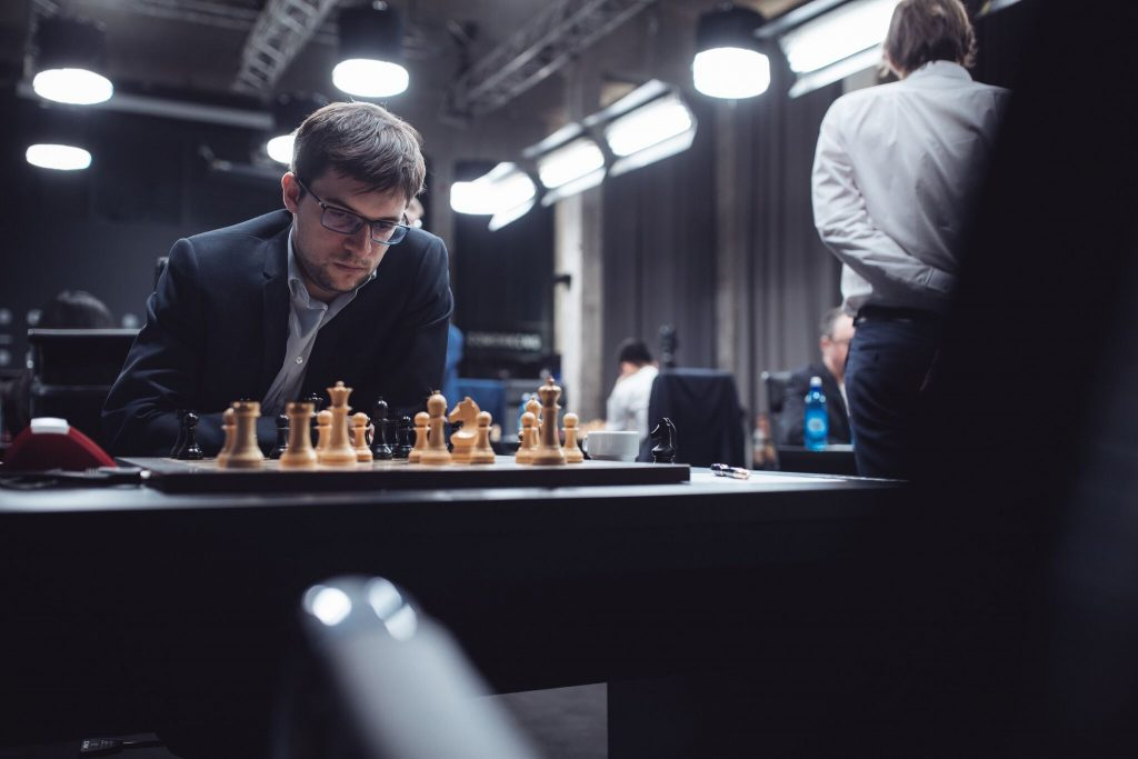 Grand Prix FIDE 2017 Moscou ronde 8 Maxime Vachier-Lagrave