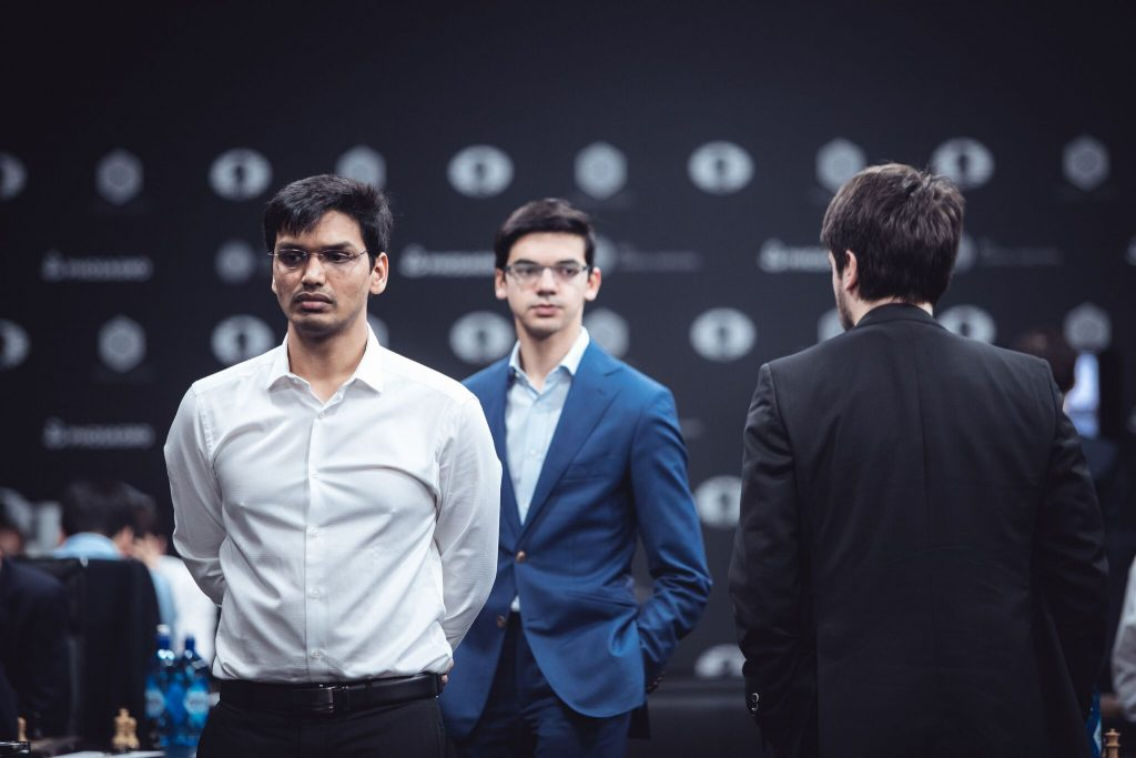 Grand Prix FIDE 2017 Moscou ronde 8 Pentala Harikrishna
