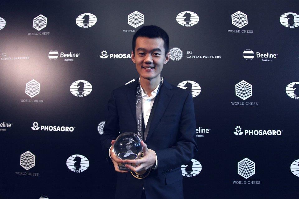 Liren Ding remporte Grand Prix FIDE 2017 à Moscou