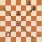 Règles jeu d'échecs : déplacement du Fou