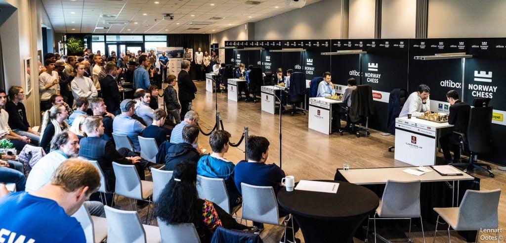 Norway Chess 2017 Blitz Salle de jeu