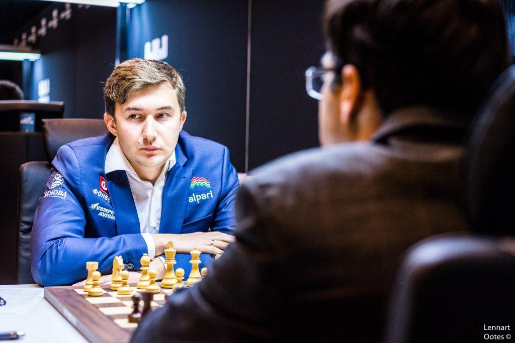 Norway Chess 2017 ronde 3 Sergey Karjakin