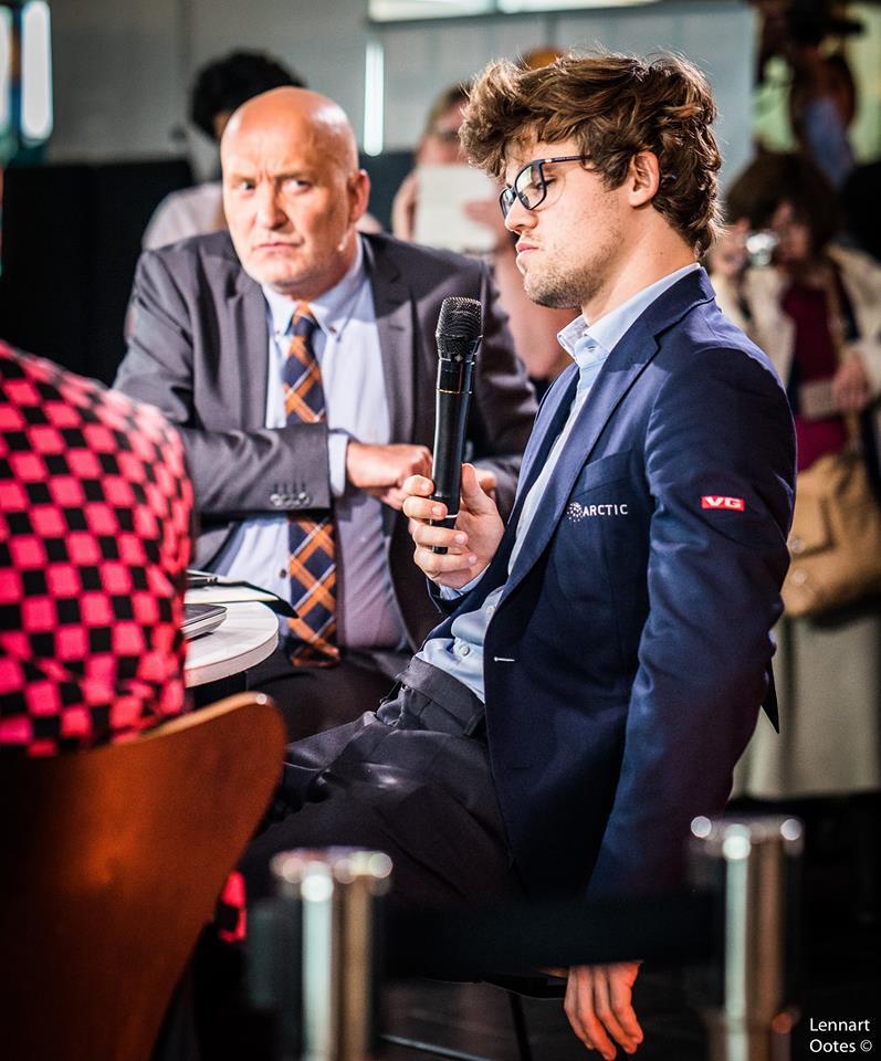 Norway Chess 2017 ronde 4 Magnus Carlsen