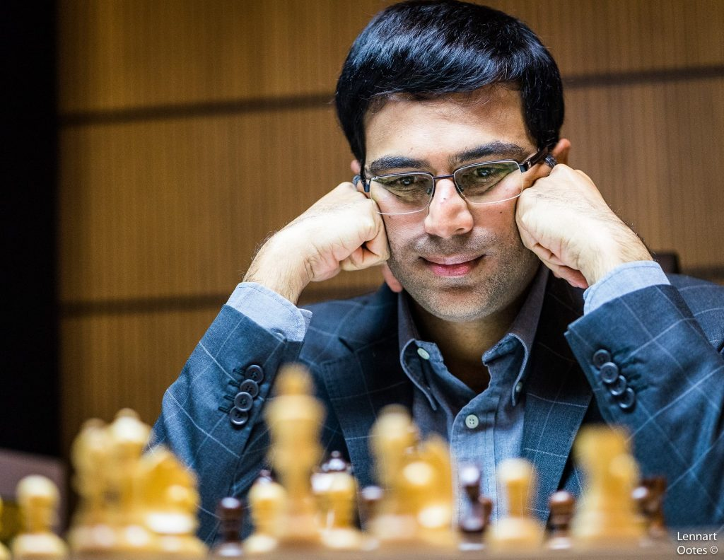 Norway Chess 2017 ronde 6 Viswanathan Anand