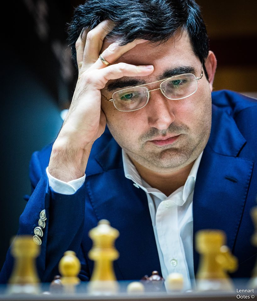 Norway Chess 2017 ronde 6 Vladimir Kramnik