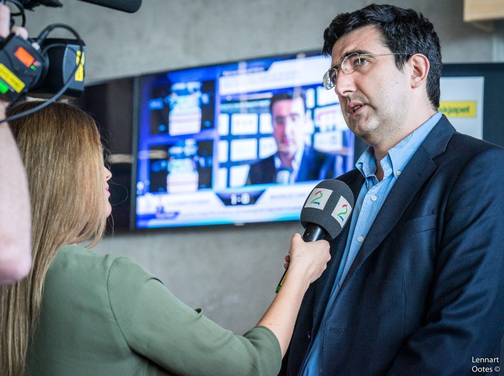 Norway Chess 2017 ronde 7 Vladimir Kramnik interview