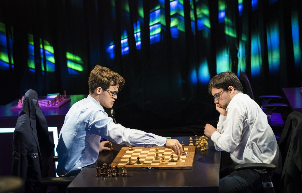 Paris Grand Chess Tour 2017 Blitz départage Carlsen-Vachier-Lagrave