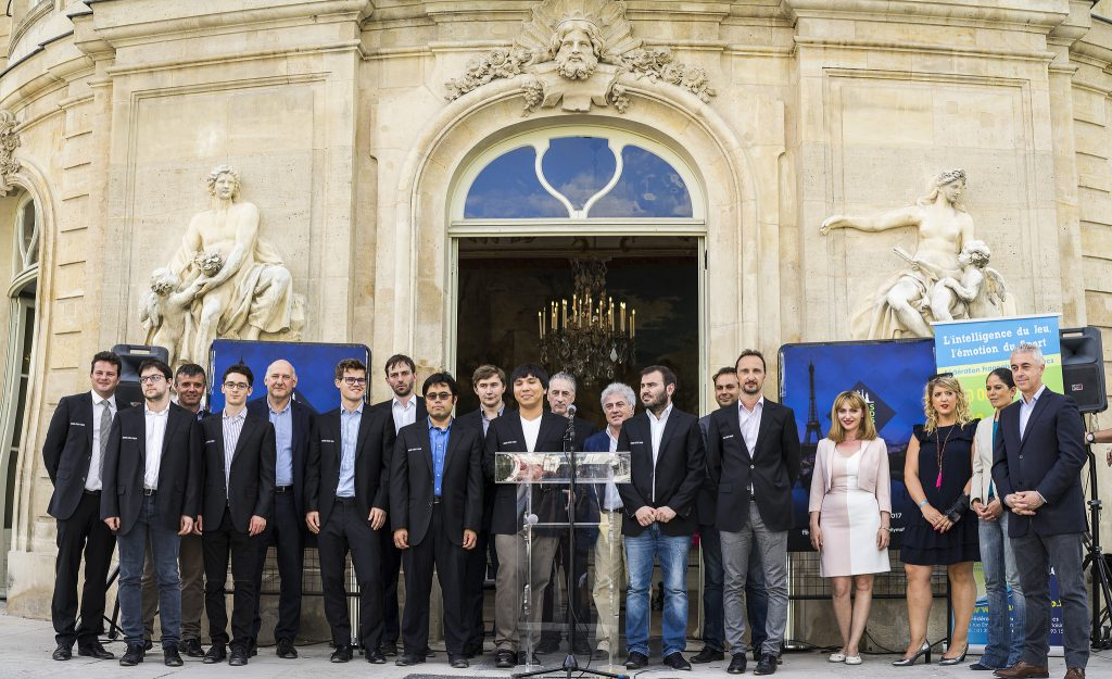 Paris Grand Chess Tour 2017 Cérémonie clôture Asnieres