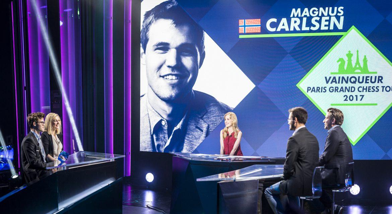 Paris Grand Chess Tour 2017 Magnus Carlen vainqueur