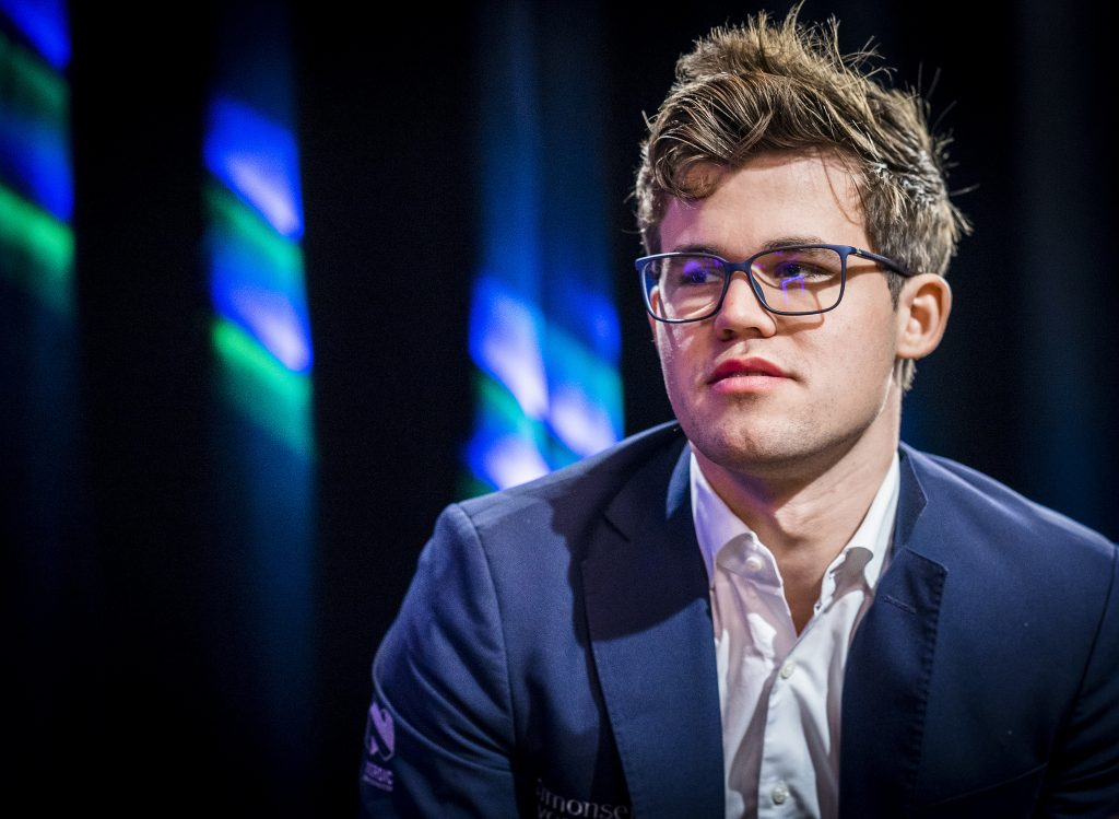Paris Grand Chess Tour 2017 Magnus Carlsen jour 3