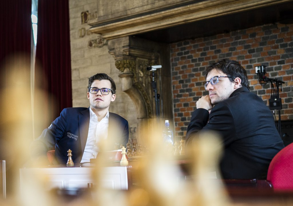 Your Next Move Grand Chess Tour 2017 jour 2 Carlsen Vachier-Lagrave