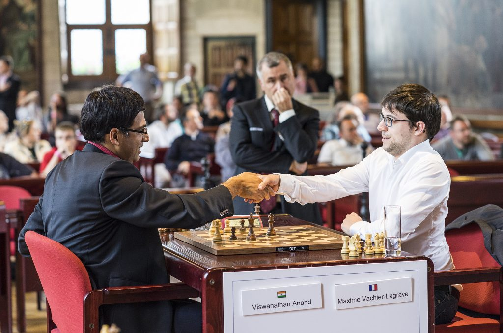 Your Next Move Grand Chess Tour 2017 rapides Anand et Vachier-Lagrave