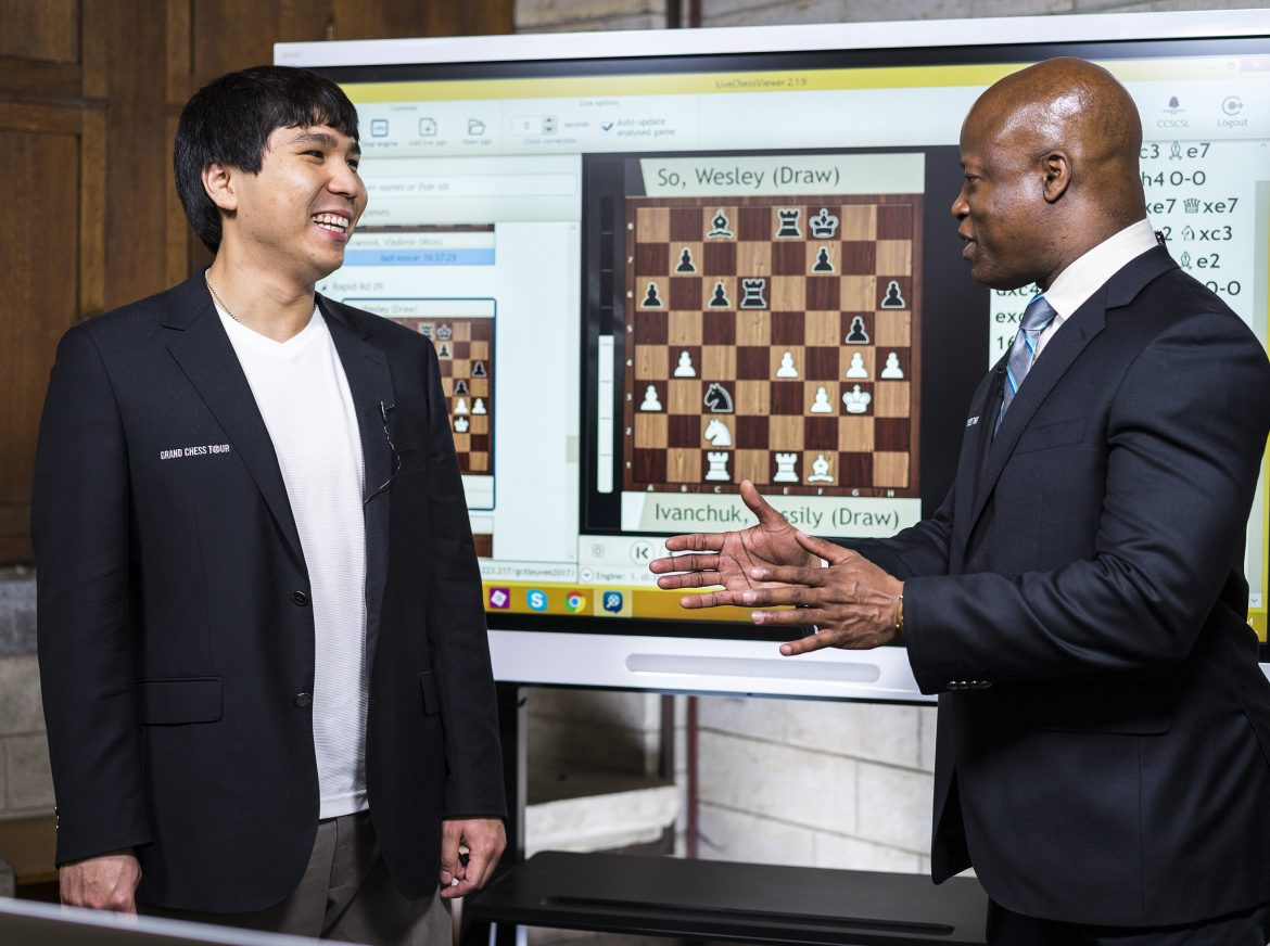 Your Next Move Grand Chess Tour 2017 rapides Wesley So
