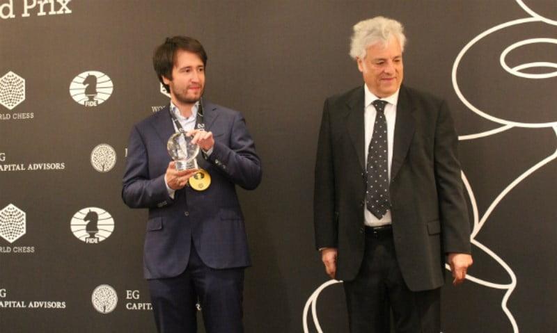 Grand Prix FIDE 2017 Genève Teimour Radjabov vainqueur