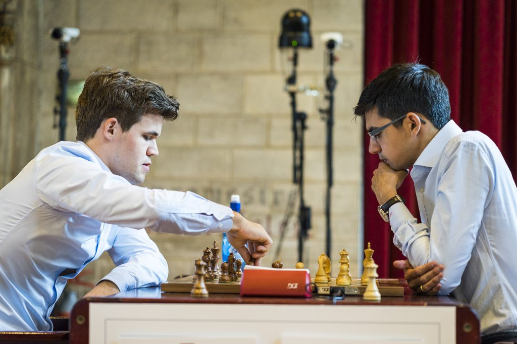 Your Next Move Grand Chess Tour Blitz 1 Carlsen Giri