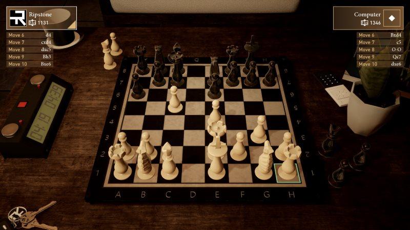 Chess Ultra exemple image partie échiquier