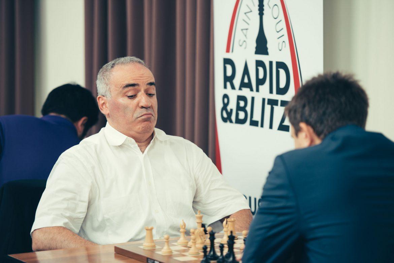 Saint Louis Rapide & Blitz 2017 jour 1 Garry Kasparov
