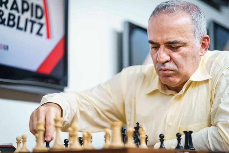Saint Louis Rapide Blitz 2017 jour 2 Garry Kasparov