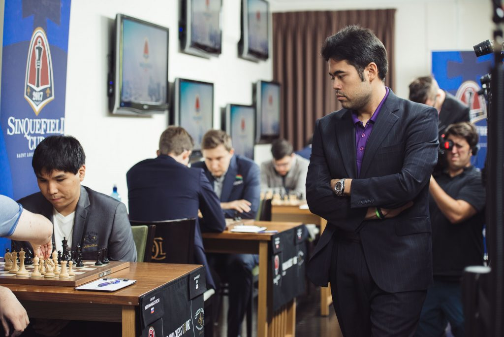 Sinquefield Cup 2017 Grand Chess Tour ronde 2