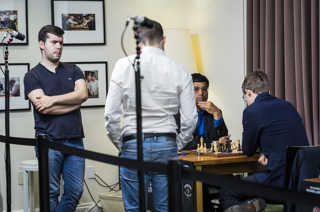 Sinquefield Cup 2017 Grand Chess Tour ronde 3