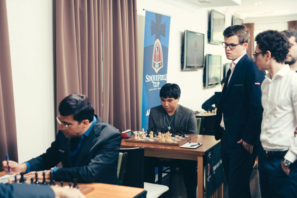 Sinquefield Cup 2017 Grand Chess Tour ronde 6