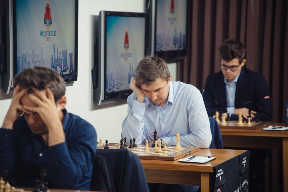 Sinquefield Cup 2017 Grand Chess Tour ronde 7