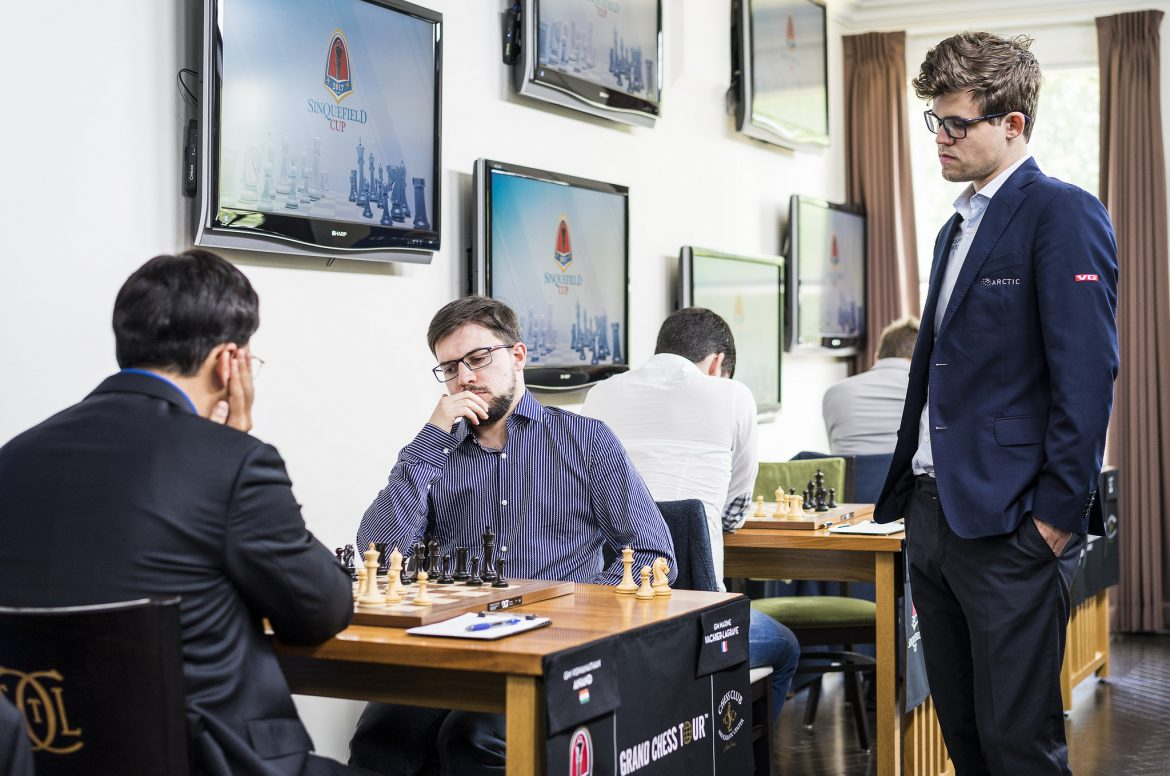 Sinquefield Cup 2017 Grand Chess Tour ronde 8