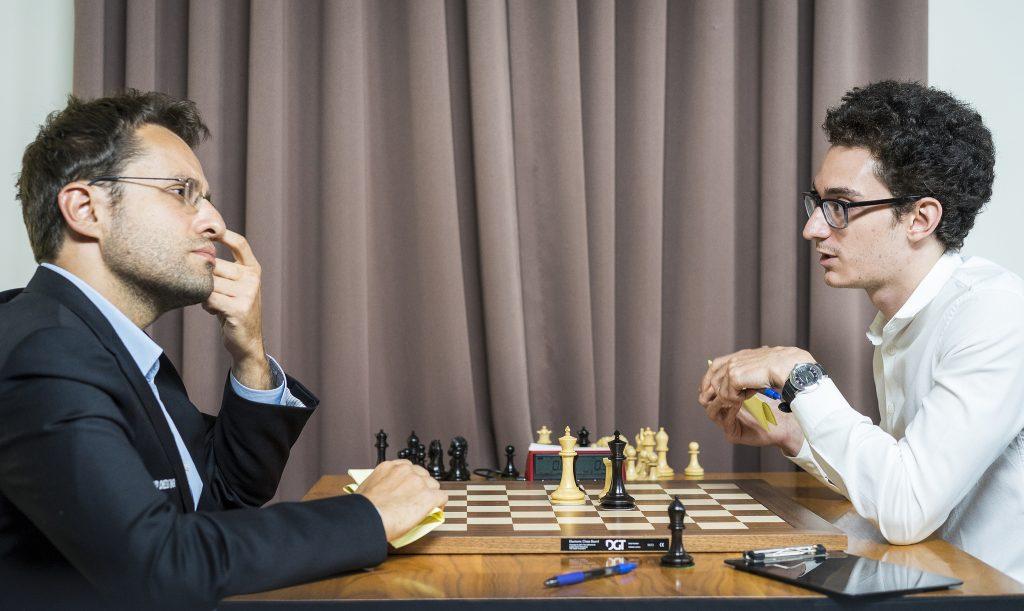 Sinquefield Cup 2017 ronde 2 Aronian-Caruana