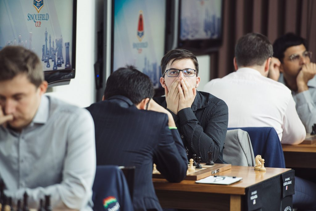 Sinquefield Cup 2017 ronde 2 Nakamura - Vachier-Lagrave
