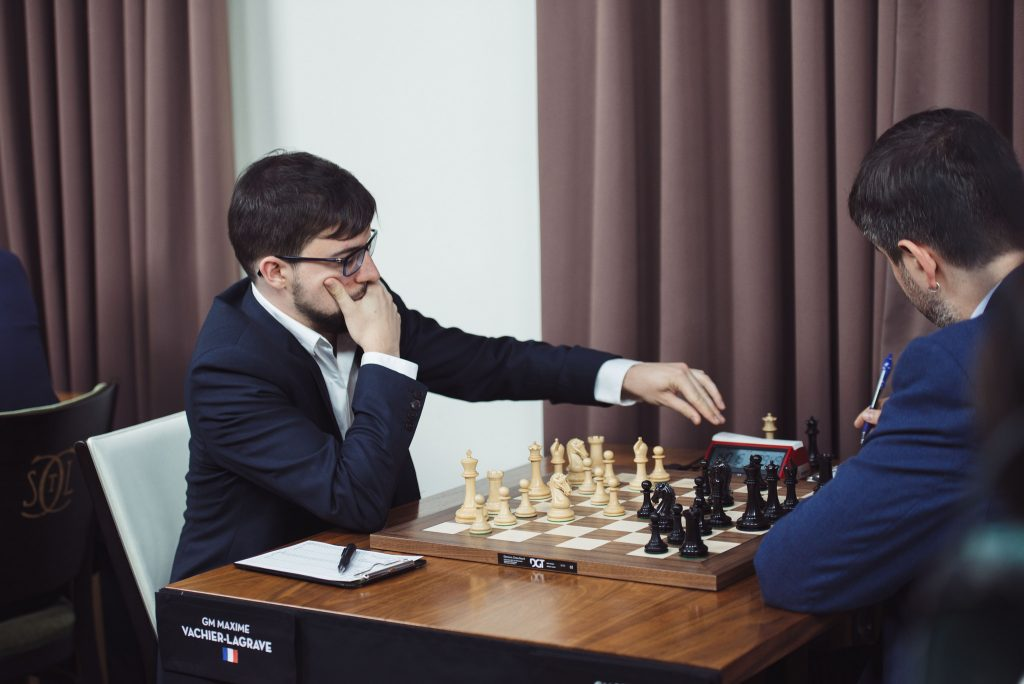 Sinquefield Cup 2017 ronde 3 Vachier-Lagrave - Svidler