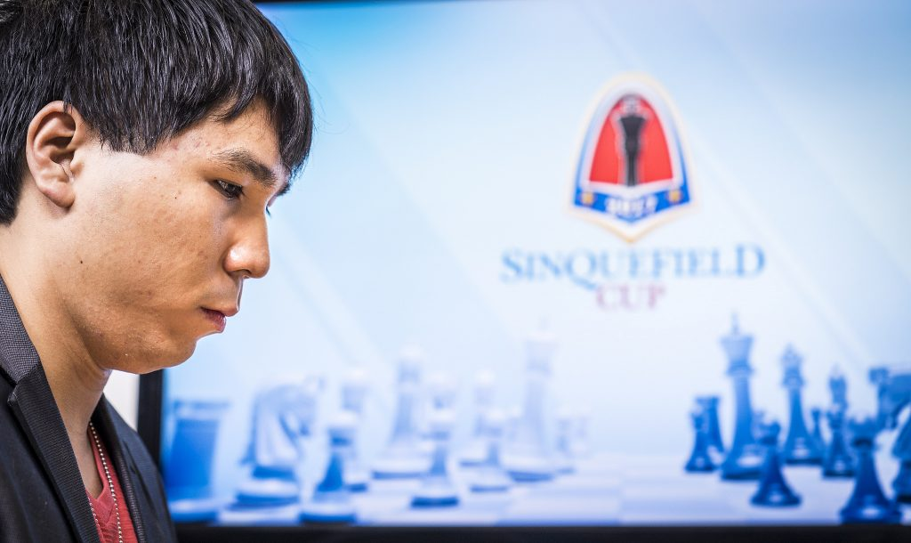 Sinquefield Cup 2017 ronde 3 Wesley So