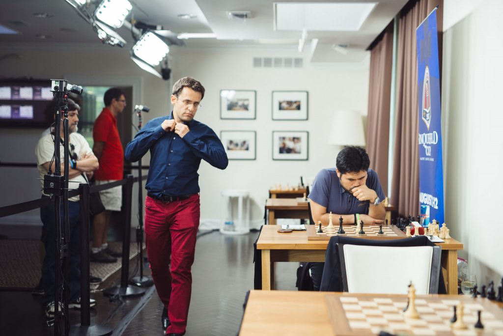 Sinquefield Cup 2017 ronde 7 Nakamura-Aronian
