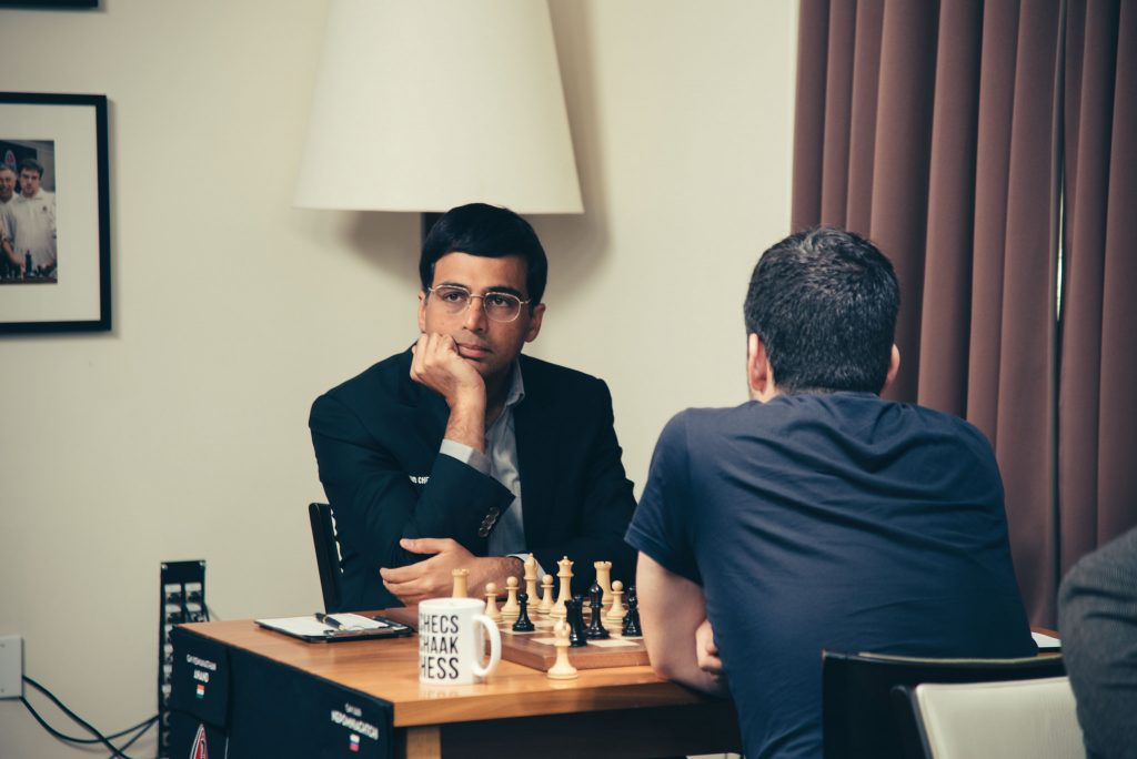 Sinquefield Cup 2017 ronde 7 Viswanathan Anand