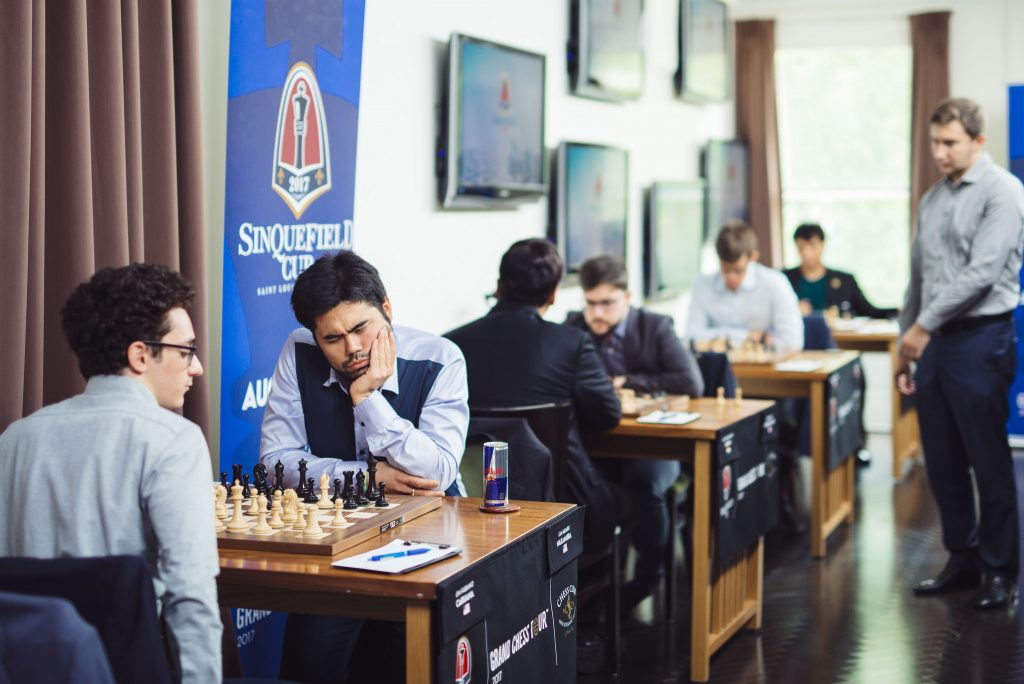Sinquefield Cup 2017 ronde 8 Caruana-Nakamura