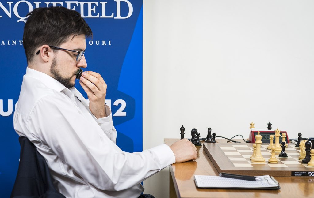 Sinquefield Cup 2017 ronde 9 Maxime Vachier-Lagrave