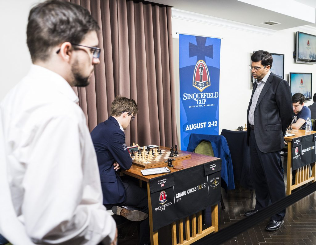 Sinquefield Cup 2017 ronde 9 Viswanathan Anand