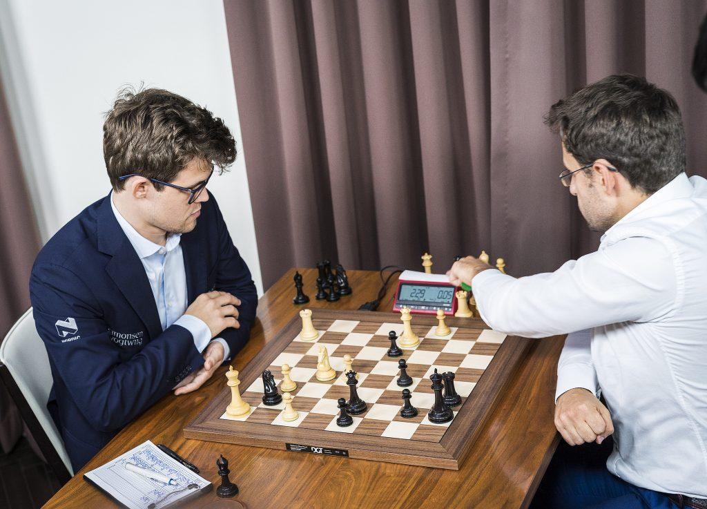 Sinquefield Cup 2017 ronde 9 Carlsen-Aronian