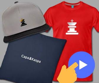 CapaKaspa Produits personnalisés