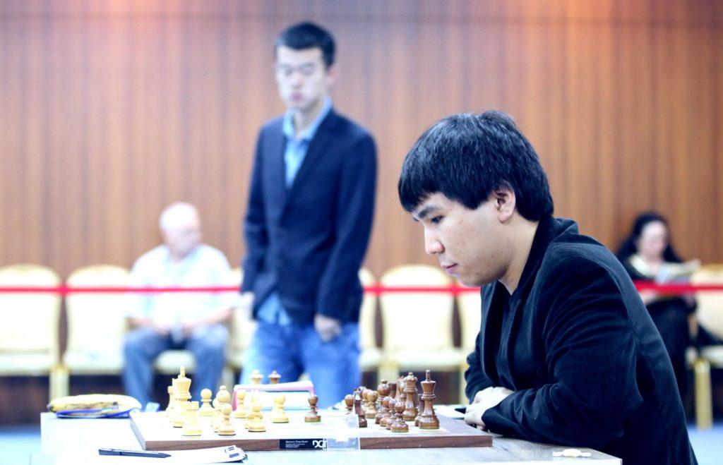 Coupe du Monde d'échecs FIDE-2017 Demi-finales 2 Wesley So et Liren Ding