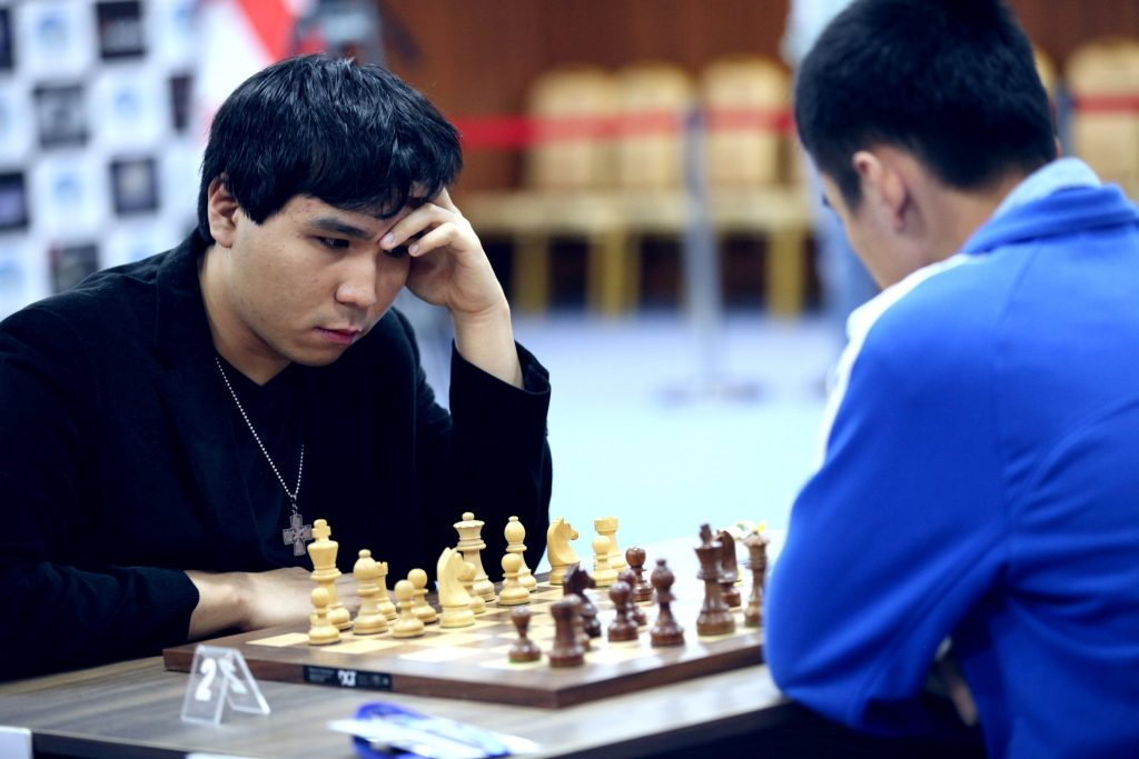 Coupe du Monde d'échecs FIDE 2017 Demi-finales départages Wesley So et Liren Ding