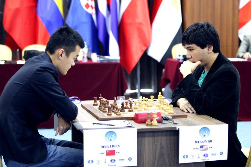 Coupe du Monde d'échecs FIDE 2017 Demi-finales Wesley So et Liren Ding