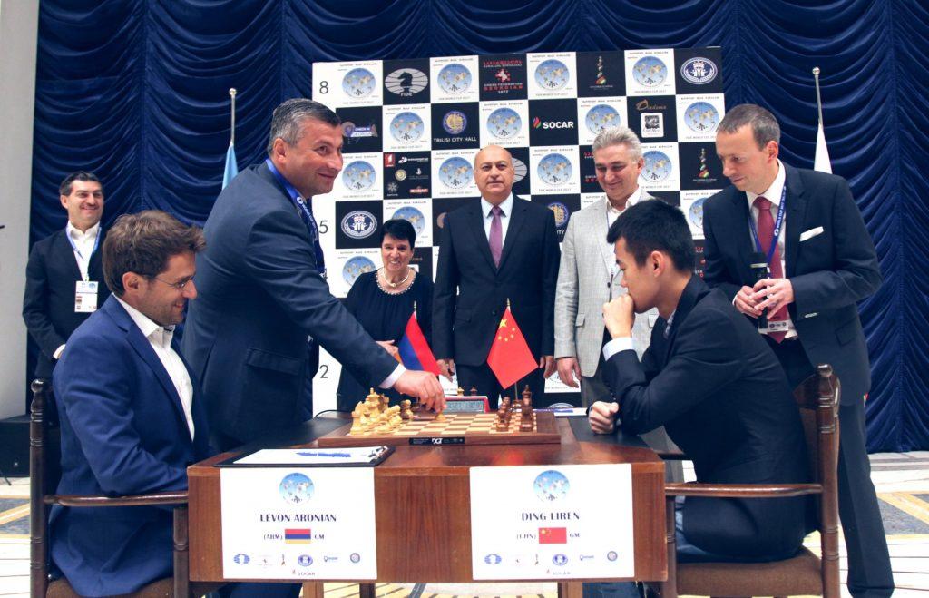 Coupe du Monde d'échecs FIDE 2017 finale