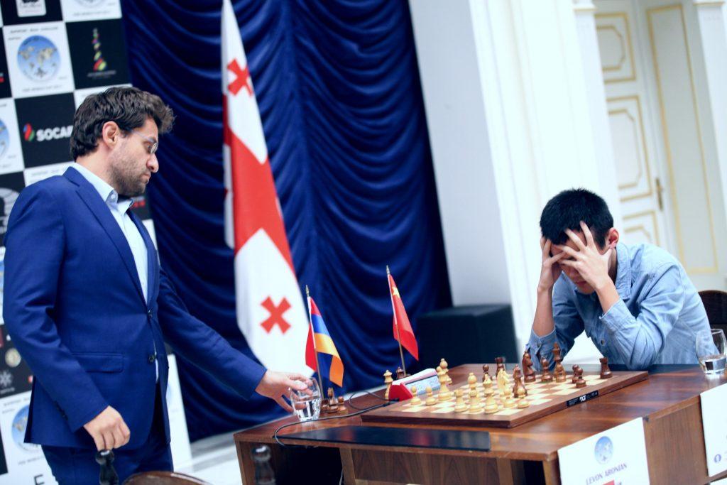 Coupe Monde d'échecs FIDE 2017 finale departage Aronian-Ding